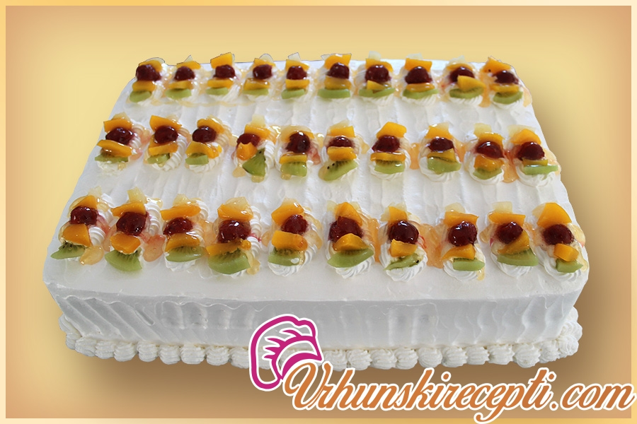 Krem sa sirom torte vocne Voćna torta