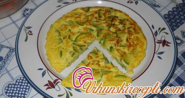 Omlet sa jajima i tikvicom