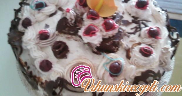 Torta sa plazmom i višnjama