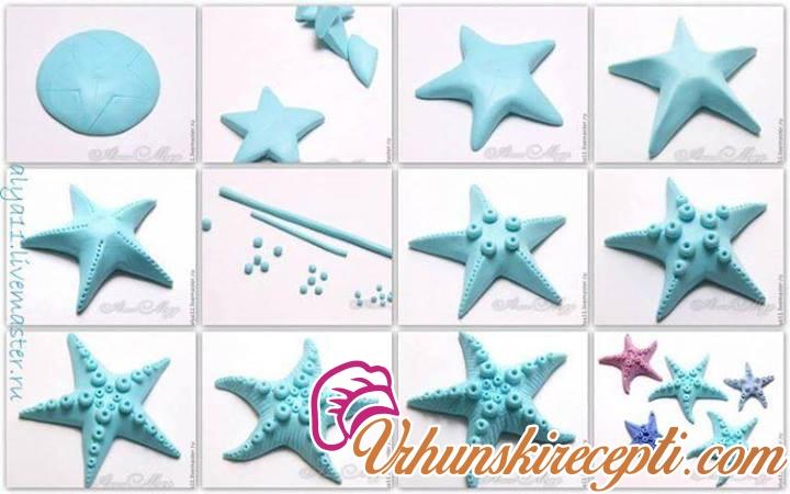 Как сделать своими руками ракушку объемную или морскую звезду