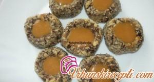 Čoko-karamel keks