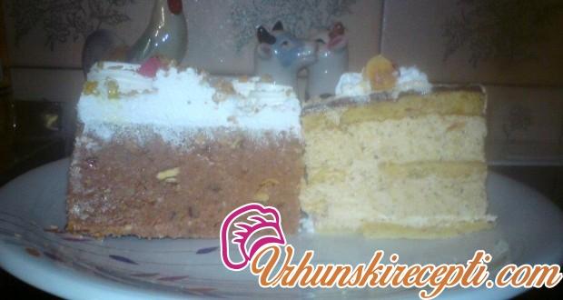 Lešnik torta i plazma torta