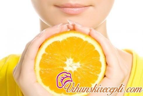 Maska za čišćenje lica od pomorandže