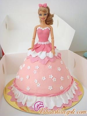Pin Komentara Na Barbie Torta Torte Recepti on Pinterest