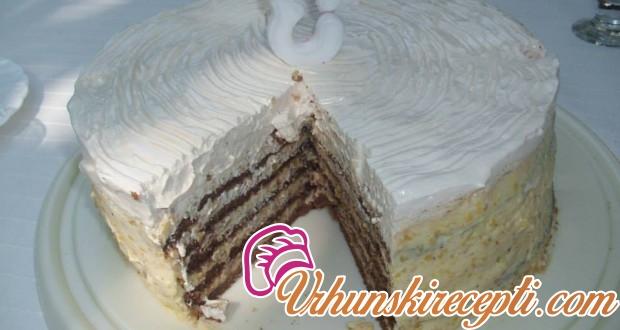 Lešnik torta - Vrhunski Recepti