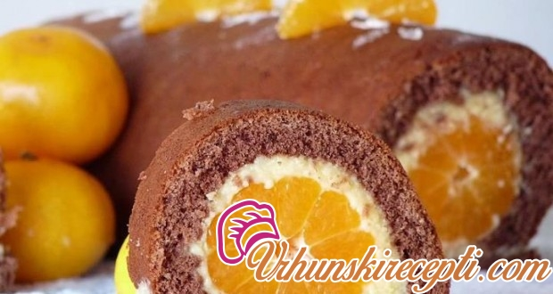 Rolat sa mandarinama - Vrhunski Recepti